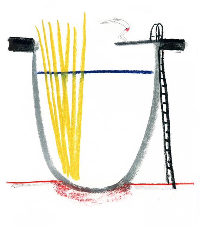 illustrazione pasta ballarini