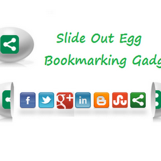 Slide Open Egg Bookmarking Gadget untuk Blogger