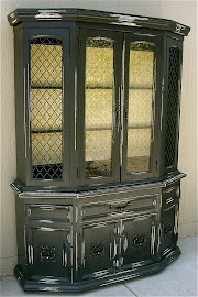 Hutch with Mustard Backing (SOLD)