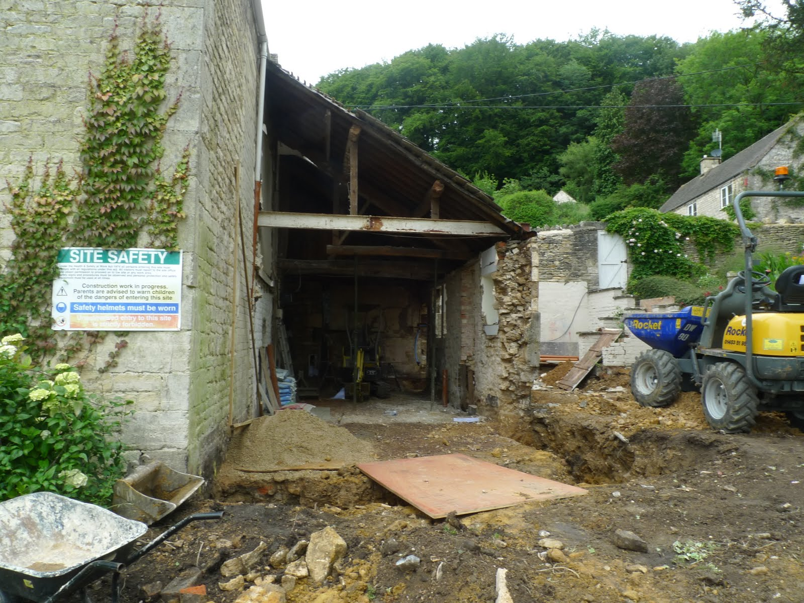 diary of a kitchen extension