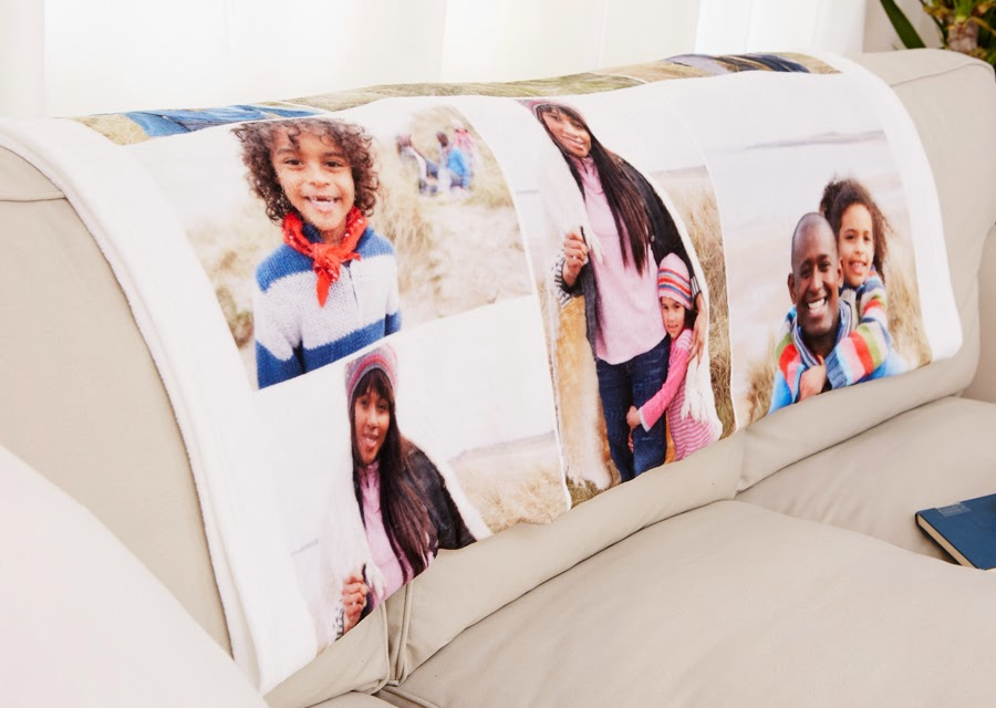 "Custom 50x60"" Fleece Photo Blanket"