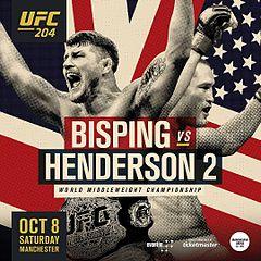 UFC 204 - 08/10 - 18h00
