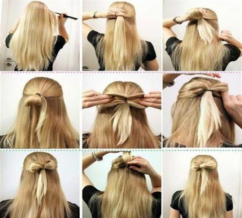 Hairstyles ideas teenagers easy made by 9 steps first step is all the