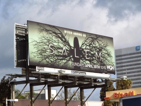 Salem series premiere billboard