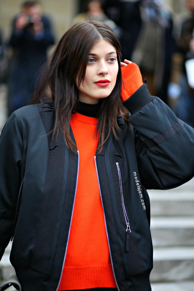 Larissa Hofmann, Paris, January 2015