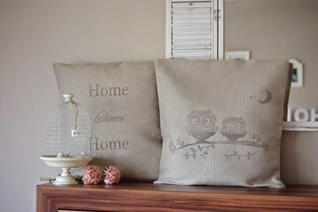 poduszka z grafiką , poszewka vintage , poduchy shabby , home seet home