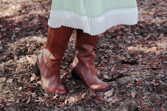 brown boots JCPenny