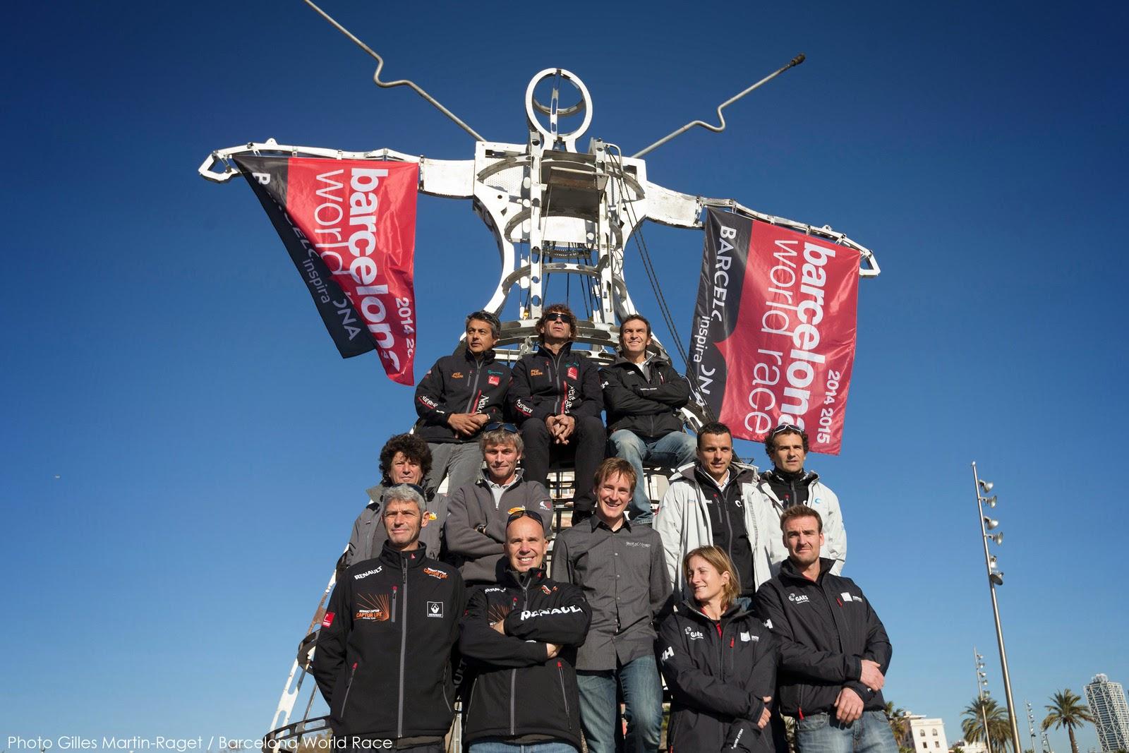 Les marins de la Barcelona World Race s'élancent demain !