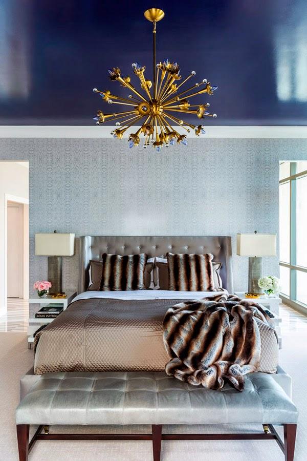 Un �tico de lujo lleno de color � A colorful luxury penthouse