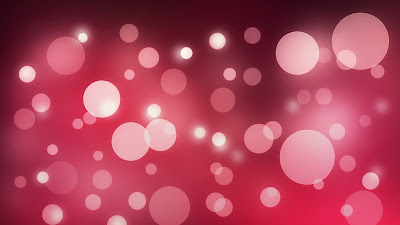 Pink Abstract Bokeh Lights HD Desktop Wallpaper