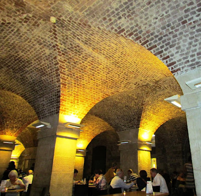 St. Martin in the Fields, cafe, crypt, London, afternoon tea