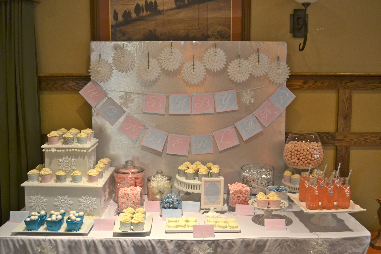 winter wonderland baby shower cakes winter wonderland baby shower