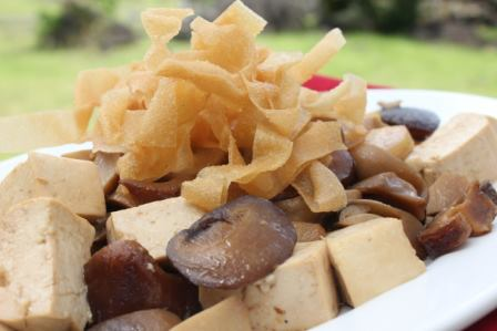 Stir Fried Tofu and Mushroom Recipe
