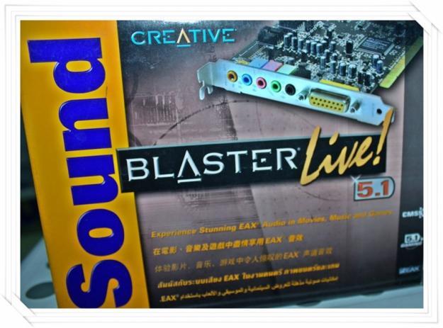 Creative Sound Blaster Live 51 Box