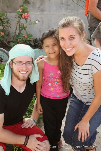 Ben Seewald and Jessa Duggar Central America