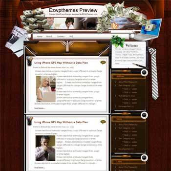 Business at Home blogger template. free blogspot template download. business blog blogger template