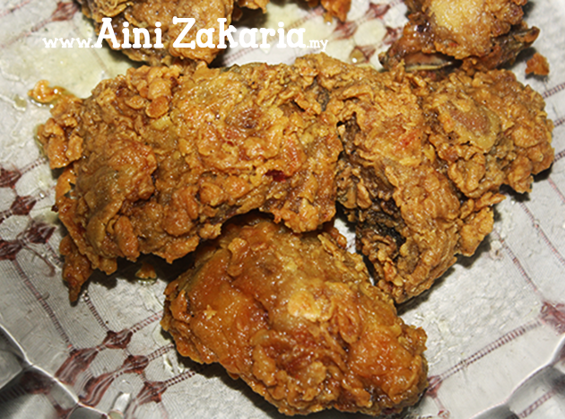 Resepi Ayam Goreng mudah dan sedap