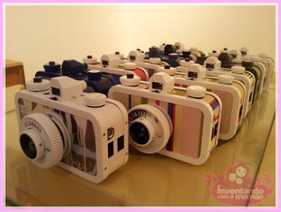 Câmera La Sradina Lomograpy