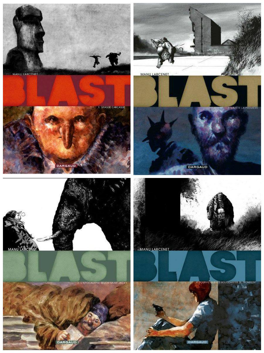 Série BD en cours : Blast de Manu Larcenet