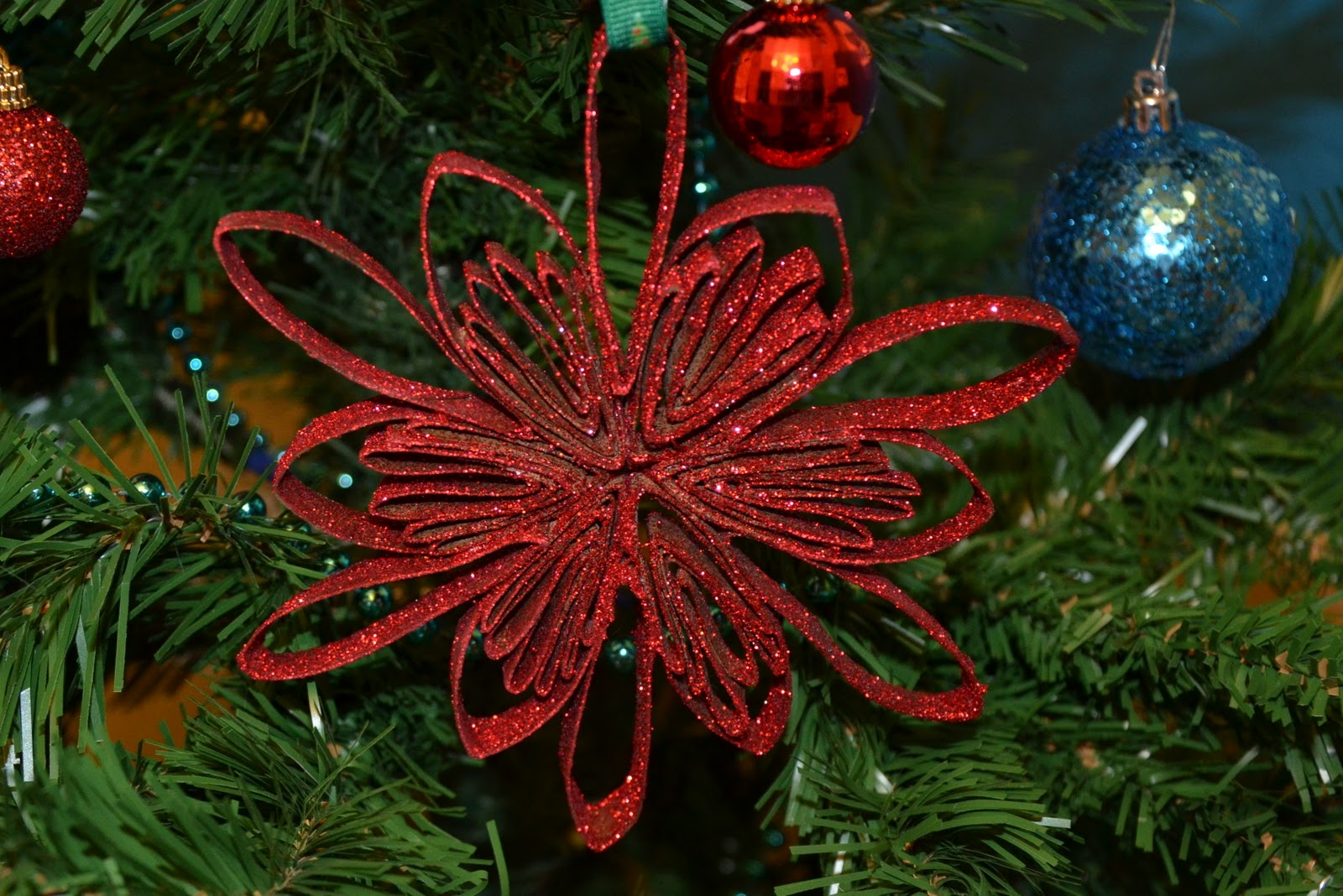 A couple of craft addicts ornaments made from toilet paper rolls i used three toilet paper rolls to make each ornament jeuxipadfo Image collections