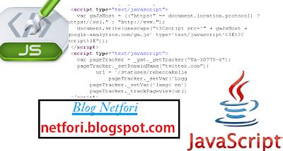 Kode Link hidup di javascript Blog netfori