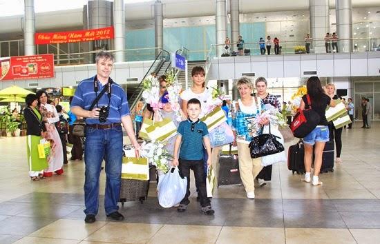 Tuyến bay Nga - Phú Quốc tạm ngừng hoạt động đến hết tháng 5/2015
