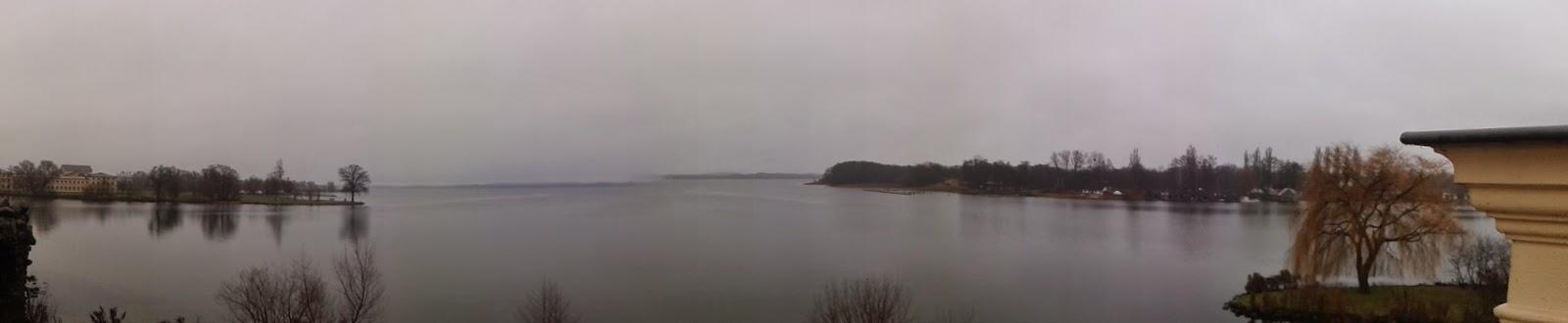 Panorama Bild des Schweriner Sees