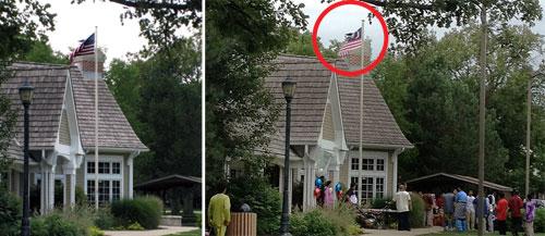 Kecoh kat Illinois bila bendera AS diganti Jalur Gemilang (Update)