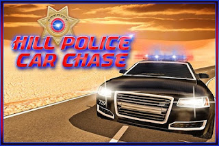 Screenshots of the San Andreas Police Hill Chase for Android tablet, phone.