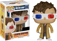 Funko Pop! Tenth Doctor W/ 3D Glasses (HT)