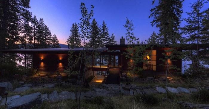 Dise o de interiores arquitectura caba a moderna con for Comprare casa al lago