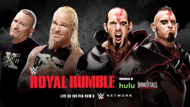 WWE - ROYAL RUMBLE 2015 - New Age Outlaws vs. The Ascension