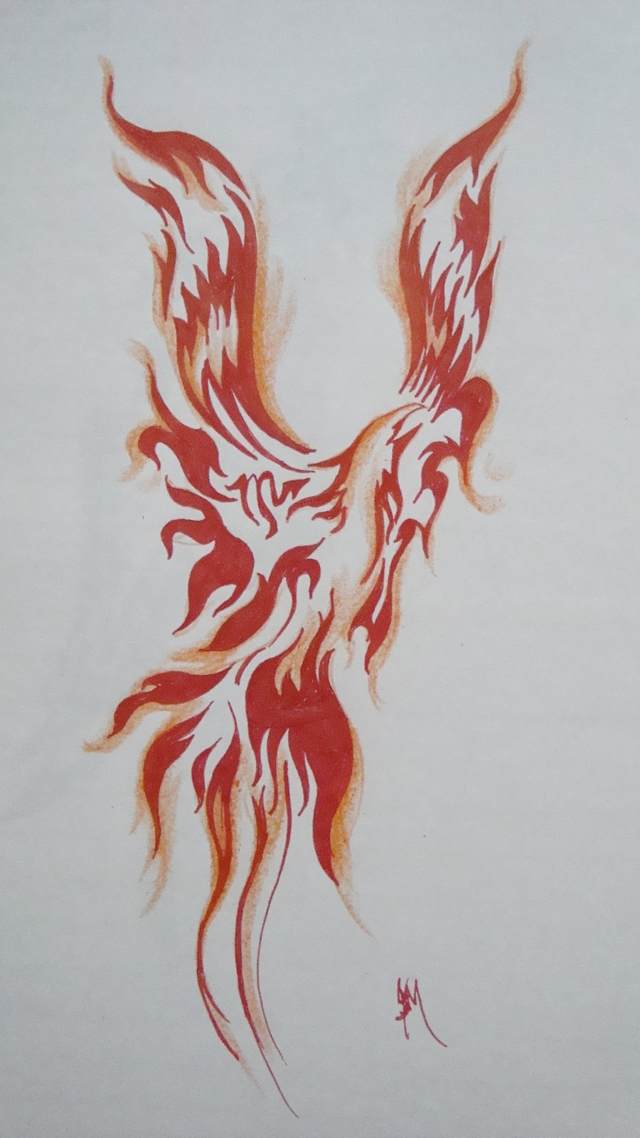 Phoenix Tattoo Photos Designs