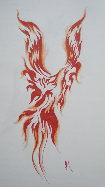 pictures of phoenix tattoos