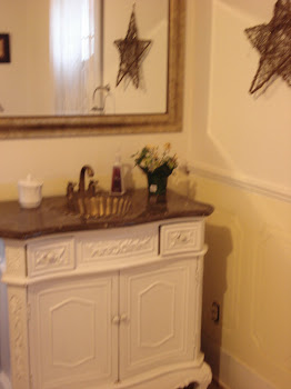 My East Coast re finished vanity