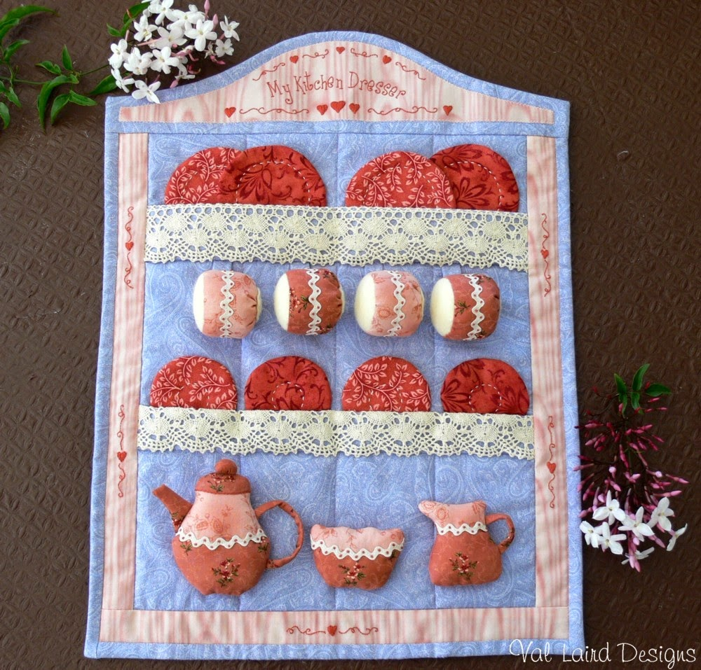 Val laird designs journey of a stitcher free block of for Kitchen quilting ideas