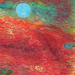 Molten (detail)   © 2014 Linda A. Miller