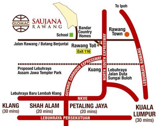 Saujana Rawang Egreta New Launch Egreta Saujana
