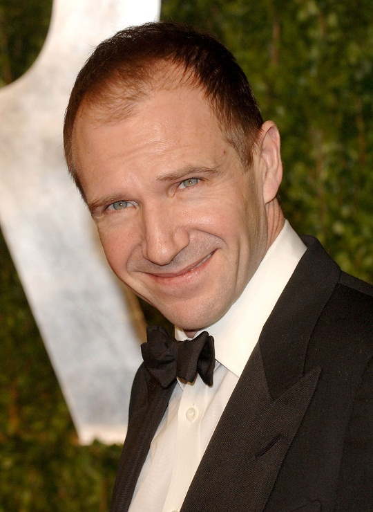English Actor Ralph Fiennes