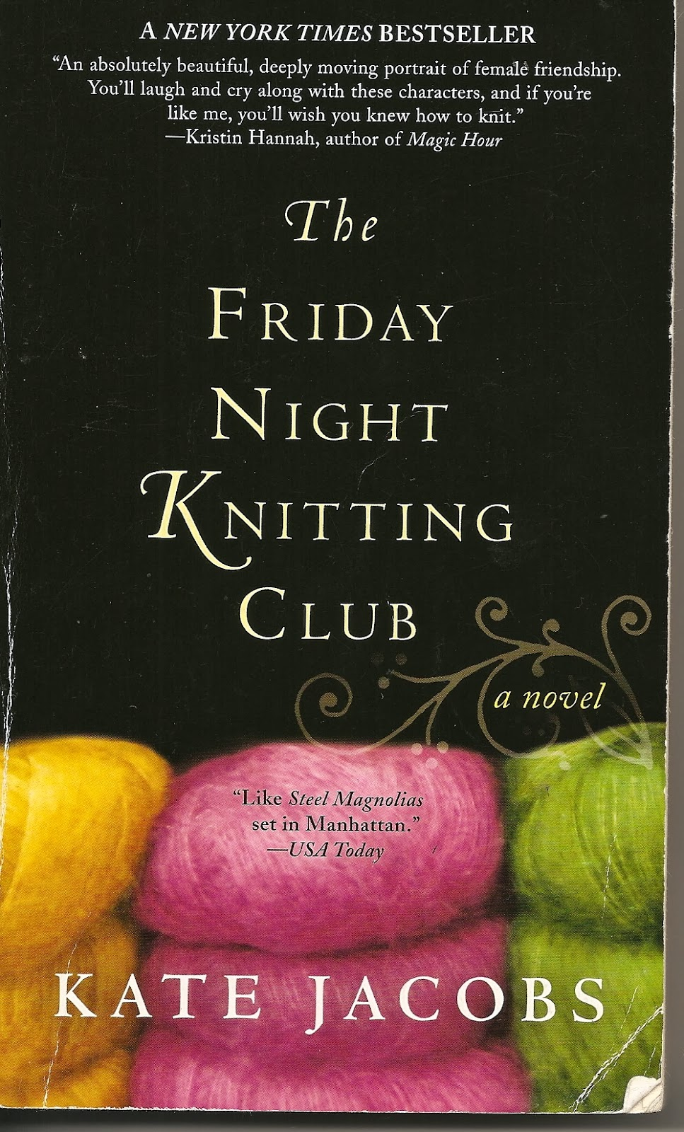 Knitting Club Book : Cozy in texas the friday night knitting club by kate jacobs