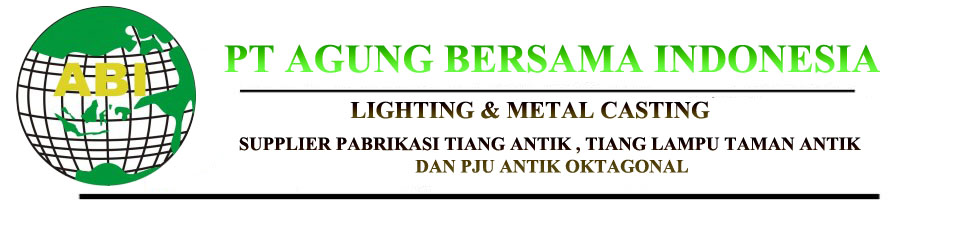 Tiang Lampu Antik Pju Decorative Octagonal