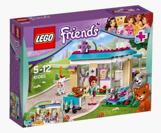 JUGUETES - LEGO Friends  41085 Clínica de Animales | Animal Care Clinic  Producto 2015 | Edad: 5-12 años