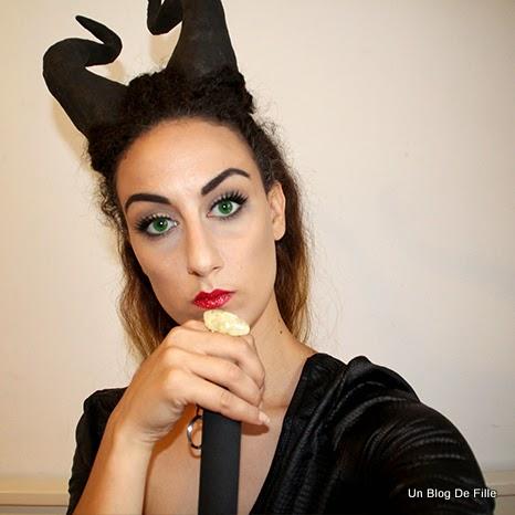 Un Blog De Fille Maquillage De Malefique Maleficent Makeup