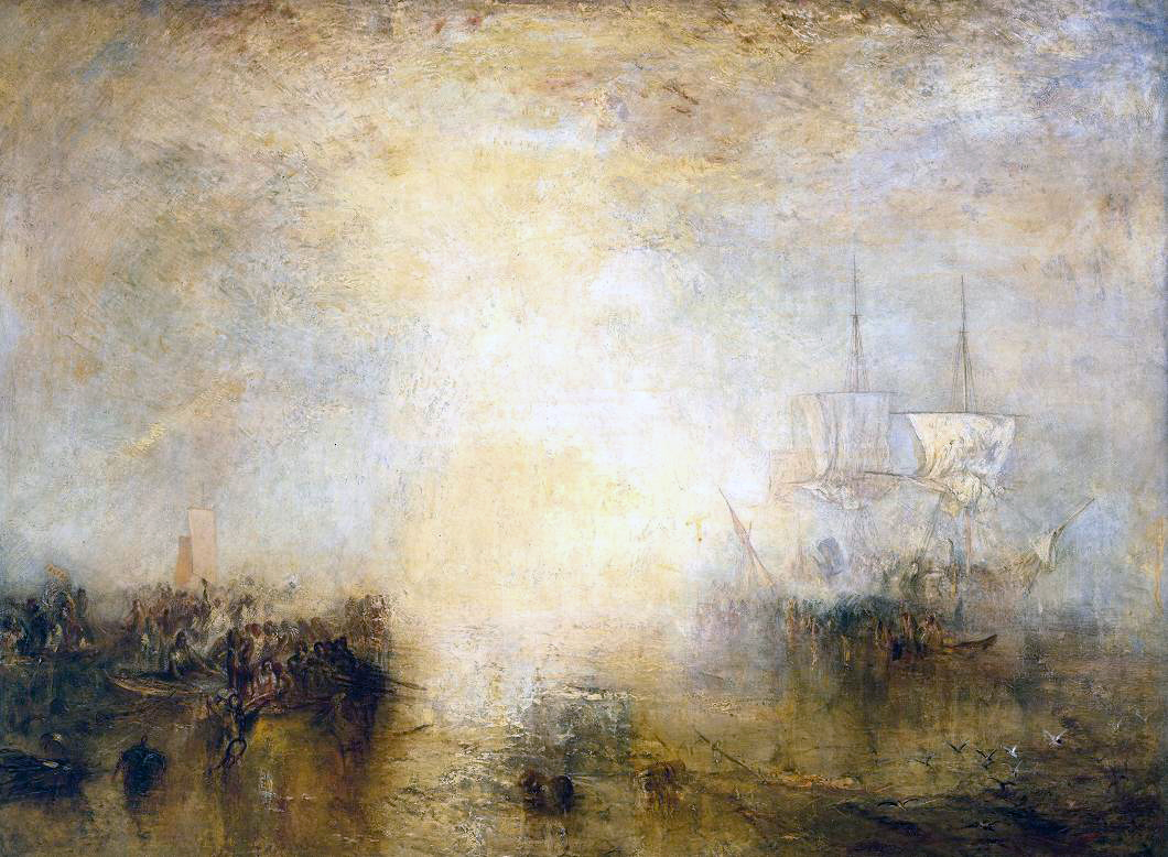 jmw turner Jmw turner, light and colour (goethe's theory) – the morning after the  deluge – moses writing the book of genesis, exhibited 1843,.