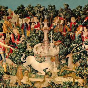 Unicorn Tapestries Medieval Art Unicorn Found
