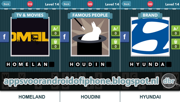 Icomania Level 14: cheats, hints, oplossingen en antwoorden