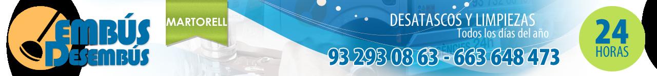 DESATASCOS EN MARTORELL- 663 648 473 - EMBÚS DESEMBÚS