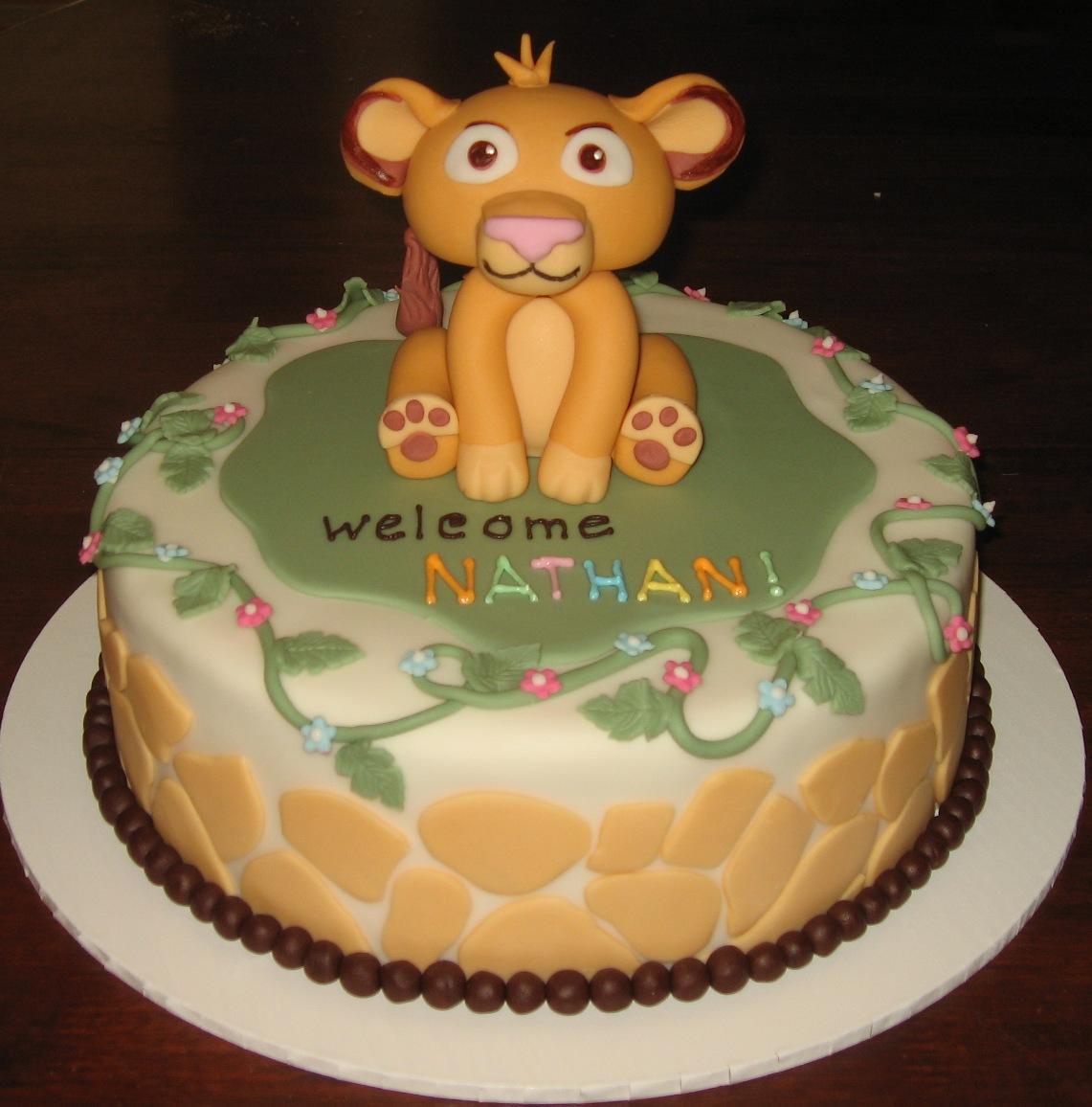 let them eat cake baby lion king
