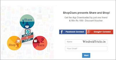 ShopClues Refer Program