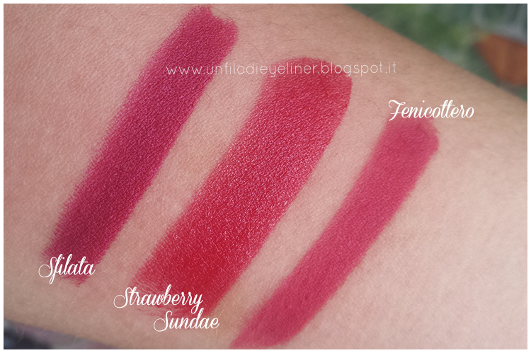 Sfilata, Strawberry Sundae, Fenicottero Swatch